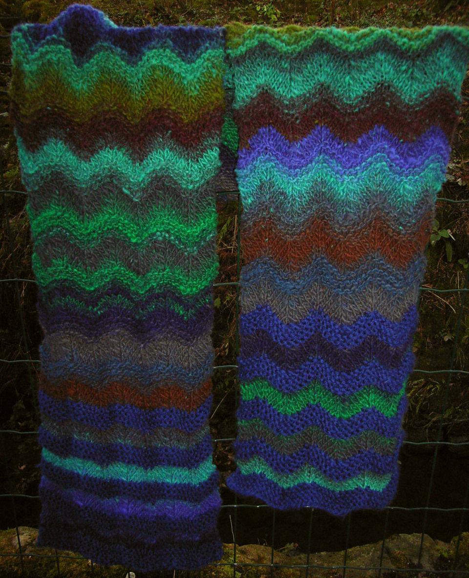 401 chevron scarf | Opus Knitting Patterns