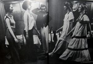 by Richard Dunkley at Schmidts, UK Vogue 15 Apr 73